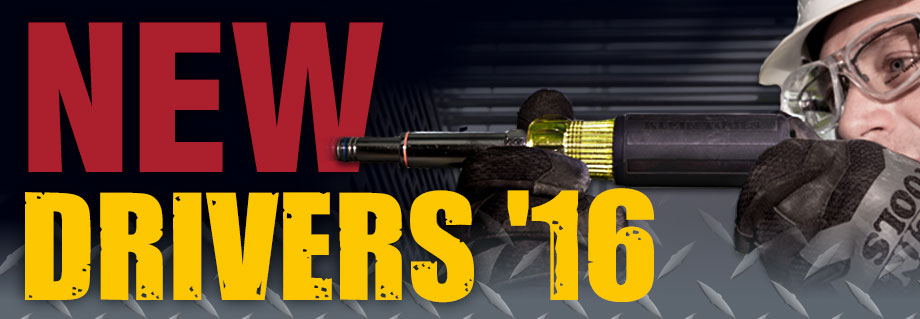 Klein Tools - New Drivers 2016