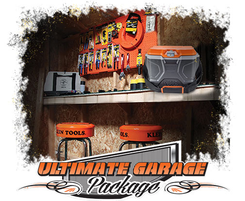 Klein Tools - Electrician of the Year - Ultimate Garage Package Prize
