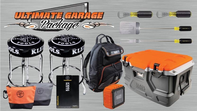 Klein Tools - 2019 Ultimate Garage Package Prize