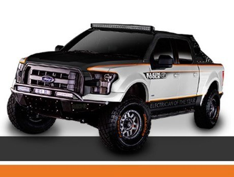 2015 Ford F-150 XLT Crew Cab Work Truck customized by Addictive Desert Designs