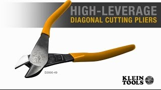 High-Leverage Diagonal Cutting Pliers