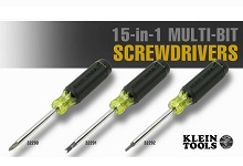 15-in-1 Multi-Bit Screwdrivers