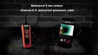 WiFi Borescope, Displays and Saves on Your Smartphone