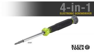 4-in-1 Electronics Screwdriver Rotating