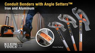 Conduit Benders with Angle Setters™