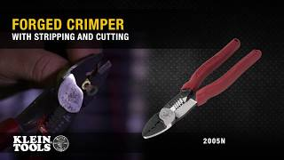 Forged Crimper with Stripping and Cutting (Cat. No. 2005N)
