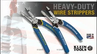 Heavy-Duty Wire Strippers