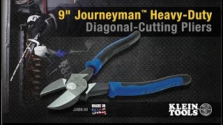 9'' Journeyman™ Heavy-Duty Diagonal-Cutting Pliers
