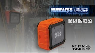 Wireless Jobsite Speakers