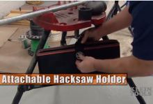 Klein Tools Attachable Hacksaw Holder