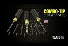 Combo-Tip Screwdrivers from Klein Tools
