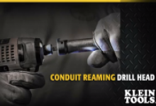 Klein Tools Power Conduit Reamer