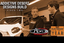 2015 Electrician of the Year: Truck Build with Addictive Desert Designs