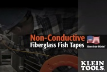 Non-Conductive Fiberglass Fish Tape