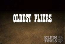 Klein Tools Oldest Pliers Winner