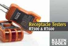 Klein Tools Receptacle Testers - RT500 & RT600