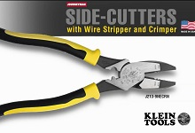 Side-Cutters with Wire Stripper and Crimper
