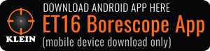 ET16 Borescope App Download for Android®