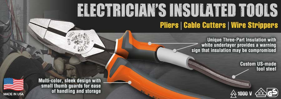 Electricians Insulated Tools