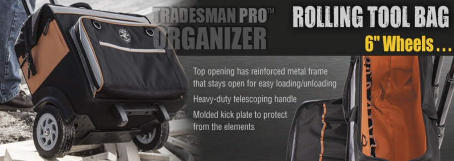 3029e22f0c Tradesman Pro Organizers. Klein Tools is rolling out innovative new tool  bags ...