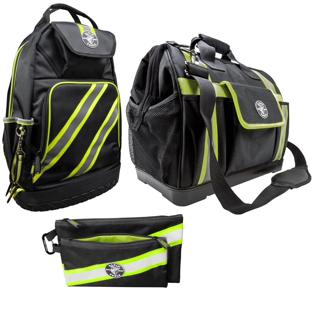 Tradesman Pro High-Visibility Tool Bags